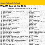 WQAM top songs for 1969