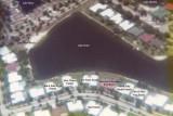 1976 - aerial view of the Lake Suzie area of Miami Lakes