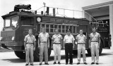 1963 - one of the Dade County Port Authority firefighting crews at MIA