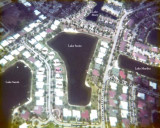 1976 - aerial photo of the Lake Suzie section of Miami Lakes