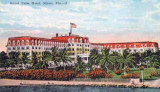 1920's - the Royal Palm Hotel on the Miami River at Biscayne Bay, Miami