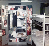 1967 - a typical locker at Group Baltimore's non-rate squad bay