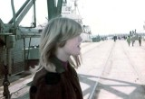 1967 - camera shy Brenda at the launching of the CGC DURABLE at the Coast Guard Yard