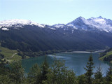LAKE FROM TOP OF GERLOS PASS . 1