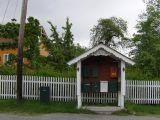 Balestrand communal letterboxes