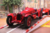 This particular 1933 Alfa Romeo Monza finished second in the 1933 Mille Miglia.
