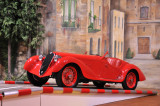 This particular 1937 Alfa Romeo 8C 2900A came in second in the 1937 Mille Miglia.