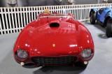 A car similar to this 1954 Ferrari 375MM won the 1954 Le Mans race.