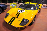 This 1966 Ford GT40 Mk. II, chassis no. XGT1, retired from the race after five hours.