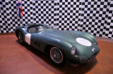 This 1958 Aston Martin DBR1 was driven to victory by Stirling Moss and Jack Brabham.