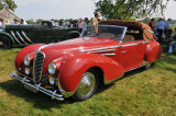 1948 Delahaye 135M Cabriolet by Figoni & Falaschi, Best of Show awardee, owned by John Rich