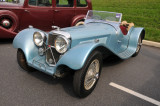 Late-1930s SS-100 Jaguar roadster