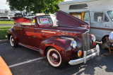1941 Packard 110 Deluxe convertible, $70,000