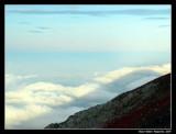 Mt-Fuji (Shadow of Mt Fuji on Clouds) Japan