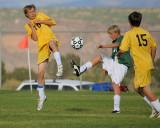 Soccer: Los Alamos vs Moriarty BJV 10/2/08