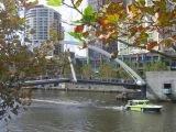 Footbridge over the Yarra River