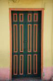 Green & Orange Door