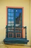 Green & Orange Window