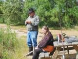 Tina og Gunnar i Volstrup Fiskepark