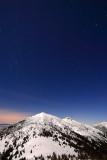 Star rollercoaster over Ostra peak, West Tatras