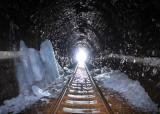Ice inside Besnicky tunnel, alt. 994m