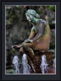 Enjoying the fountain