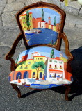 Chair with landscape