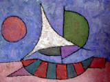 Fat Old Sun - 70x90 - Acrilic on panel - 2006