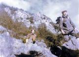Hervé et Marie-Jo Butel dans le grand pierrier de Sesto