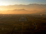 Last landing of the day. Kabul, Afghanistan