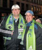 Seattle Sounder's playoff game 2009