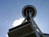 Space Needle - view from below