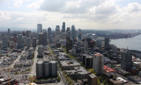 Space Needle eye view - south