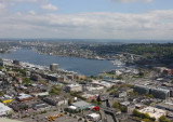 Space Needle eye view - north