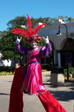 Stilt Clown