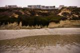 Sea Bluff condos, low tide,