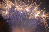 fireworks hold at arms lenght