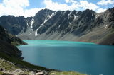 Ala-Kul Lake in Telety area