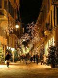 Christmas on Via della Spiga