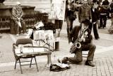 Playing in Prague