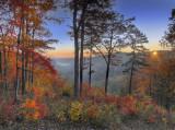 Sunrise at the John Snell Overlook
