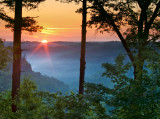 Sunrise at the Snell Overlook