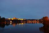 Karl bridge at night 1