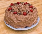 Chocolate Cherry Microwave Cake