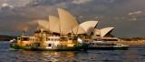 Sydney Ferries leaving Circular Quay