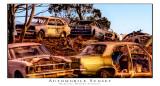 Automobile Sunset, Balkuling, W.A.