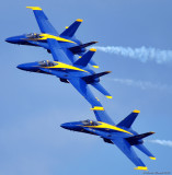 Blue Angels - 3 ship formation