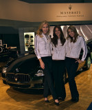 The Maserati Girls at the L.A. Auto Show 2008