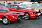 Original and 2006 Shelby Mustang GT500 side by side