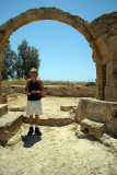 Chris at Pafos Archaeological Site 02